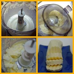 How to make butter in food processor.