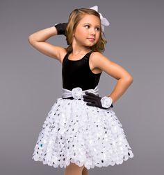 """""""Steppin' Out"""" Girls Tutu Dress - Style Number: TH2032C  $19.40"""
