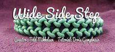 Wide Side Step | Swiss Paracord