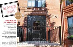 The inn at st. botolph, boston