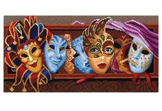 Counted Cross Stitch Kit Make With Your Hands   - Masks by ArtfulStitchings on Etsy