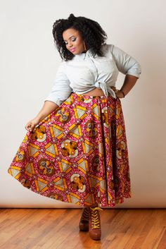 i would sooo wear somithing like this... i love the wild but very pretty prints. worn the right way