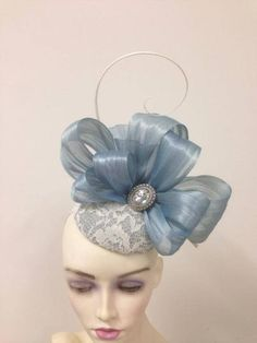 Millinery by Miss Lauren Lilac Fascinator, Fascinator Hats, Fascinators, Headpieces, Wedding Hats, Headpiece Wedding, Wedding Veils, Crazy Hats, Head Wrap Scarf