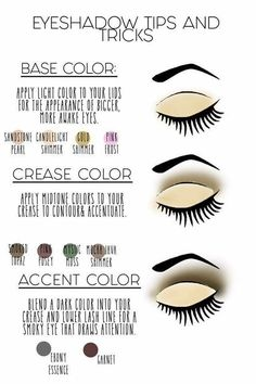 What colors do you use, and where do you put them? ShadowSense eye shadows are easy to apply and easy to blend. Check out these looks and give it a try! Contact me :) Lips by Stephie 406510