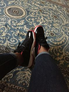 Shoe game! Bred low 11's @MontiMaybached