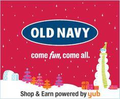 Spend $39 at Old Navy, Get a FREE $50 Restaurant Gift Card