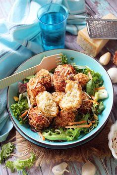 Az otthon ízei: Sajtos karfiolgolyó Cauliflower, Food And Drink, Vegetables, Cauliflowers, Vegetable Recipes, Cucumber, Veggies