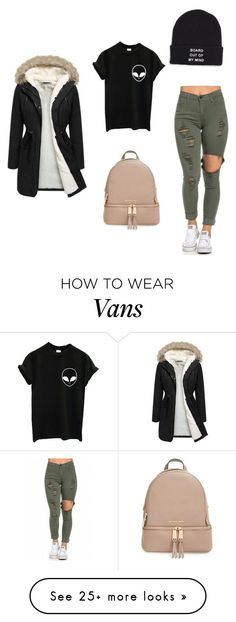 """Untitled #363"" by youneedunique on Polyvore featuring Vans and MICHAEL Michael Kors"