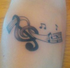 20120319 Treble clef notes – Tattoo Picture at CheckoutMyInk.com Note Tattoo, Treble Clef, Picture Tattoos, Notes, Pictures, Photos, Report Cards, Treble Clef Art, Photo Illustration