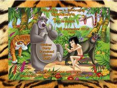 Awesome Jungle Book Postcard Invitation
