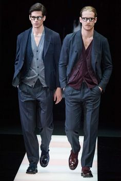 Giorgio Armani Fall 2015 Menswear - Collection - Gallery - Style.com