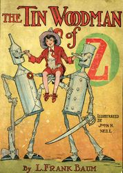 12. The Tin Woodman of Oz<br>a faithful story of the astonishing adventure undertaken by the Tin Woodman, assisted by Woot the Wanderer, the Scarecrow of Oz, and Polychrome, the Rainbow's daughter