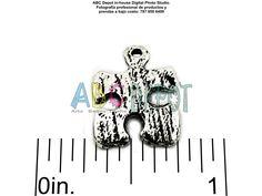 Pieza de #Rompecabezas, en #Metal, color #Plata antigua, puede usarse cmo #Símbolo del #Autismo #Pendant de 16x12mm. Bolsita con 8.  Código: PAs1612