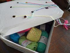 Haken of breien met meerdere kleuren