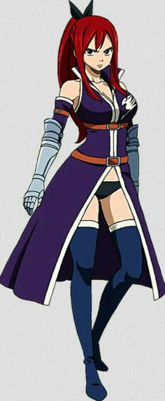 Erza Scarlet♥ in Grand Magic Games outfit!