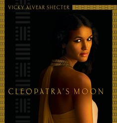 Cleopatra's Moon by: Vicky Alvear Shecter. This is a historical fiction novel, based on the lives of Cleopatra VII and her daughter, Cleopatra Selene while their enemy, Octavianus from Rome, tries to take over Egypt and kill Cleopatra and her husband, Antonius. I highly recommend this book because it does such an amazing job at propelling you back into Ancient Egypt.
