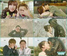 hwang gi kiss ra won in silent monster happy ending kiss - My Shy Boss kiss korean drama