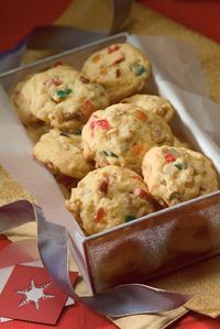 Rum Fruitcake Cookies .... Or this version