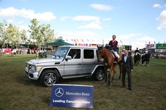 Brian Morton wins for the second year in a row at the Spruce Meadows 'Masters' Tournament.