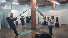 #TRX at #HookedOnFitness #GroupFitness #PhillyPersonalTrainer Another shot from #HookedOnFitness