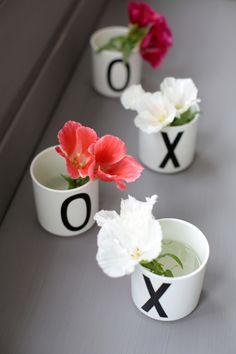 XOXO vases