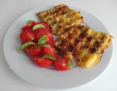 Slané waffle inšpirované španielskou tortillou ako skvelý tip na brunch Brunch, Breakfast, Food, Retro, Morning Coffee, Essen, Meals, Retro Illustration, Yemek