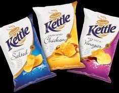 Chip Packaging, Packaging Snack, Food Packaging Design, Snack Brands, Benefits Of Organic Food, Kettle Chips, Innovative Packaging, Cookies Et Biscuits, Nutrition