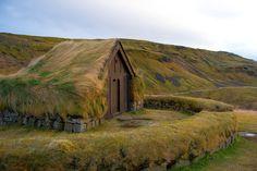 15 maisons scandinaves avec un toit végétal qui semblent tout droit sorties d'un…