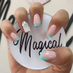 Fancy Nails, Cute Nails, Nail Spa, Nail Nail, Mani Pedi, You Nailed It, Acrylic Nails, Nailart, Nail Designs