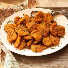 5 recettes à base de potiron. A retenir : les gnocchis, la tarte et les pancakes !!!