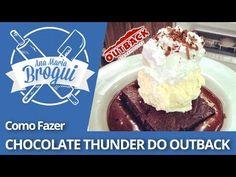 Como fazer Chocolate Thunder do Outback - YouTube