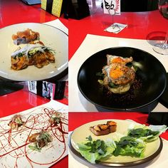 Maravilla para el paladar en #streetxo Dunpling pekinés Sándwich club al vapor Saam de panceta ibérica a la brasa y Tataki a la brasa de pez mantequilla #delicious #Madrid #dunpling #sandwich #tataki #gastronomia #gastropost #foodie #foodpics by llenandolatripa