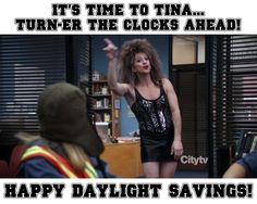 Spring forward totally sucks, let's be honest Community Tv Show, Community College, Community Quotes, Unbreakable Kimmy Schmidt, Movie Lines, Parks And Recreation, Best Shows Ever, Best Tv, Favorite Tv Shows