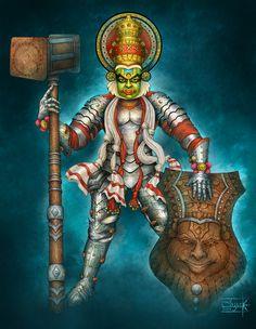 *South indian Warriors * by Anant-art.deviantart.com on @DeviantArt  #dwarf #wow #dnd #paizo #pathfinder #wizardofthecoast #paizoart #indianartist #aishwaaryanant #game #illustration #characterdesign #conceptart #tcggame #rpggame #mtggame #tcg #rpg