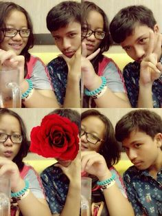 with Iqfar:3 #Rose #hangout