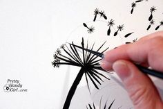 How to Paint your Own Dandelion