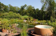 #zahrada #jezirko #virivka www.softub-spa.cz
