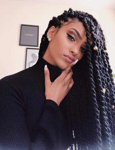 Braided hairstyles 40 Stylish Protective Hairstyles What To Expect When You Buy Landau Ladies Colleg Box Braids Hairstyles, Protective Hairstyles, Girl Hairstyles, Black Twist Hairstyles, Protective Styles, Marley Twist Hairstyles, Wedding Hairstyles, Black Girl Braids, Girls Braids