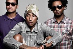 """NERDY TIMES  Well, yes, we've been listening to N.E.R.D. for many, many years so we take the opportunity of N.E.R.D.'s forthcoming project """"No_One Ever Really Dies"""" to share a selection of our fave tracks together with 4 Pharrell tracks. Pharrell has become a major figure in design (#Adidas, #Gstar & #BionicYarn, #Moynat etc.) so we pay tribute to him by celebrating his first love, music! Feat. @nerd @pharrell @badgalriri"""