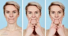 7 Effective Exercises to Get Rid of Wrinkles in 12 Minutes Yoga Facial, At Home Glute Workout, Yoga For Seniors, Face Exercises, Wrinkled Skin, Beauty Tips For Face, Homemade Skin Care, Facial Care, Tips Belleza