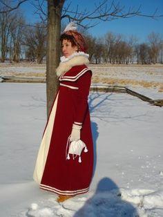 Winter Regency outfit