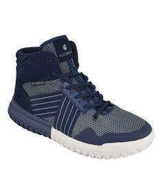 Navy Blast Hi-Top Sneaker - Men