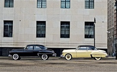 1950 Oldsmobile 88 Sedan Side View With Coupe Photo 17