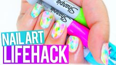 SHARPIE Nail Art HACK Every Girl Should Know!