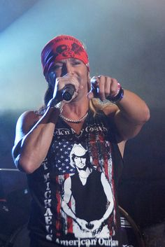 Bret Michaels in Fort Smith by saycheezpics, via Flickr