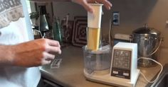 Man Demonstrates An Easy Way To Make Laundry Detergent At Home