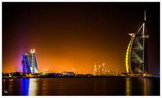 Photo Gece Burj al Arab by Thabreez Muhamed on 500px
