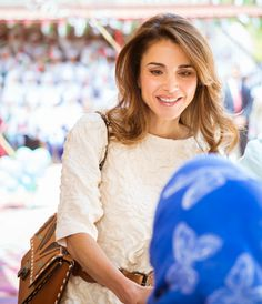 Queen Rania, Jimmy Choo bag