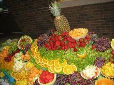 la gran mesa de frutas