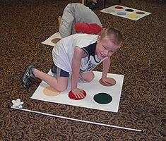 Braille Twister...could be a fun classroom activity on World Braille Day!!!